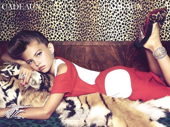 הפקת אופנה וו דוגמנית בת 10 / צלם: יחצ